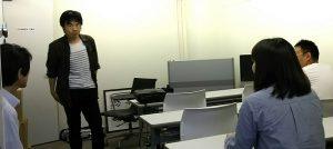 探偵学校授業風景